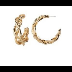 BANANA REPUBLIC - Earrings hoops - Never used